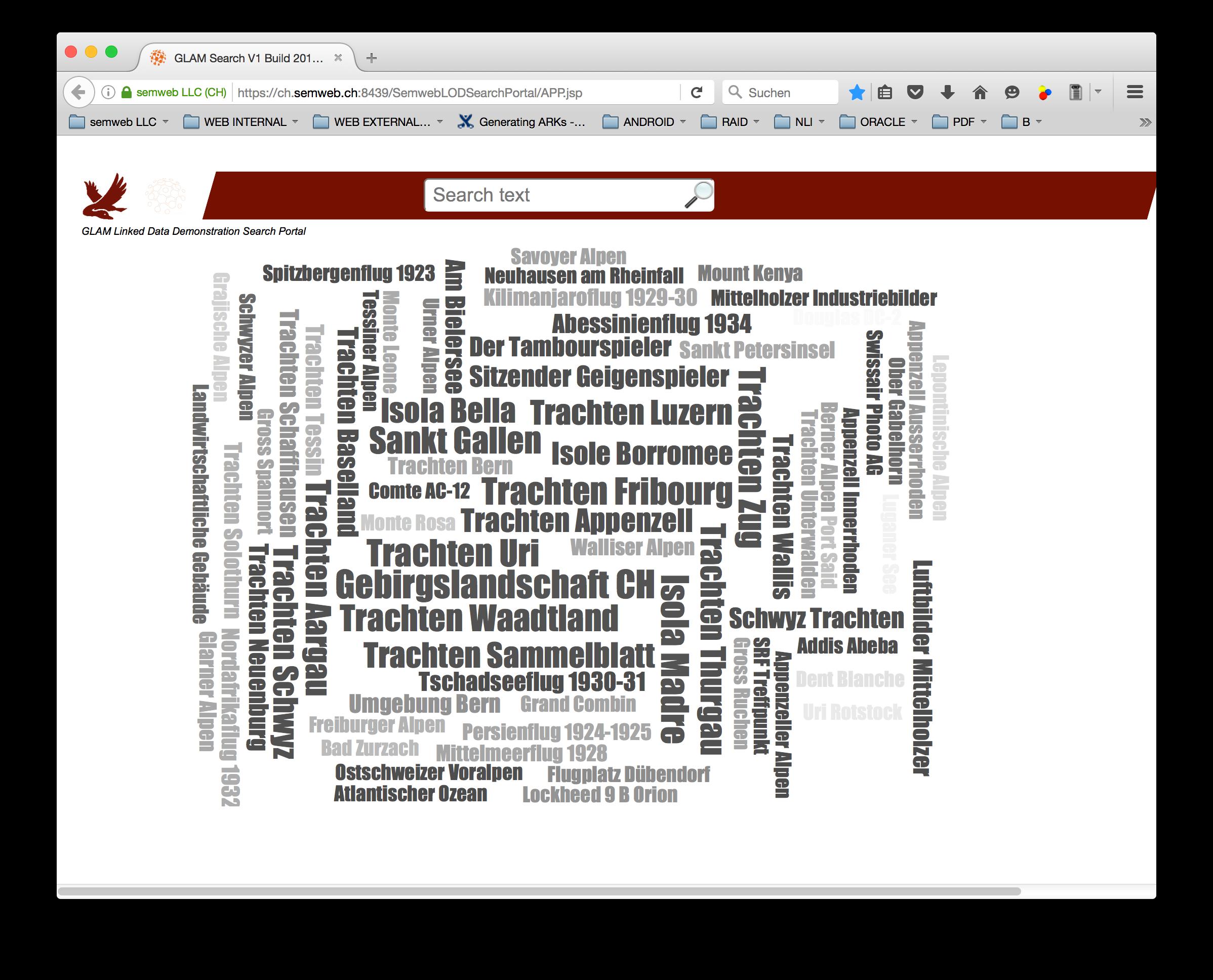 GLAM RDF Search Portal